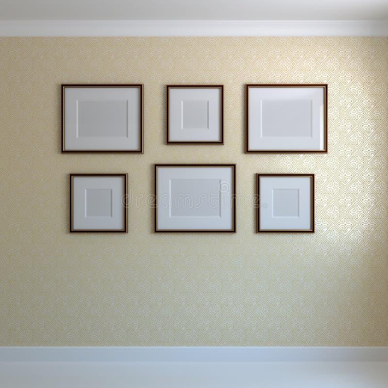 Pagine sulla parete royalty illustrazione gratis