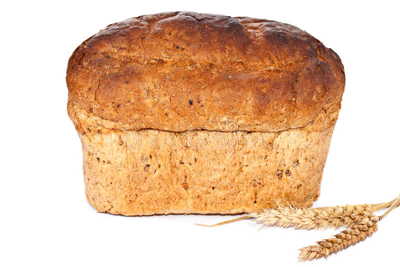 Pagnotta del pane di Brown fotografia stock