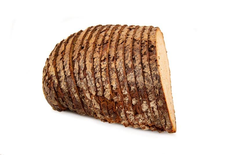 Pagnotta del pane di segale fotografia stock libera da diritti