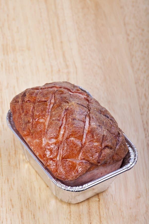 Pagnotta di carne fotografia stock