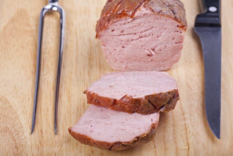 Pagnotta di carne fotografia stock libera da diritti