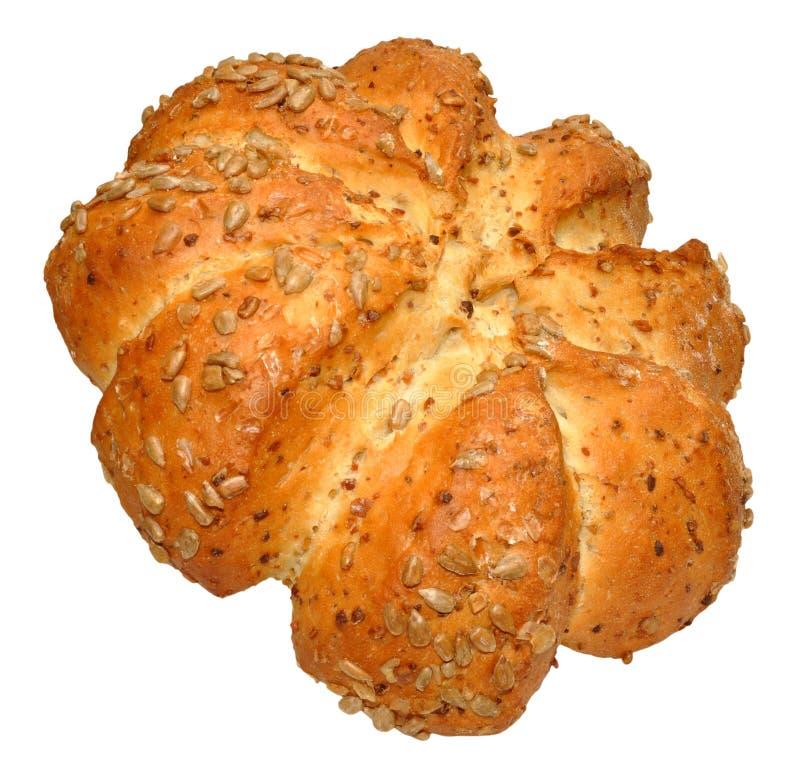 Pagnotta di Honey And Sunflower Star Bread immagine stock