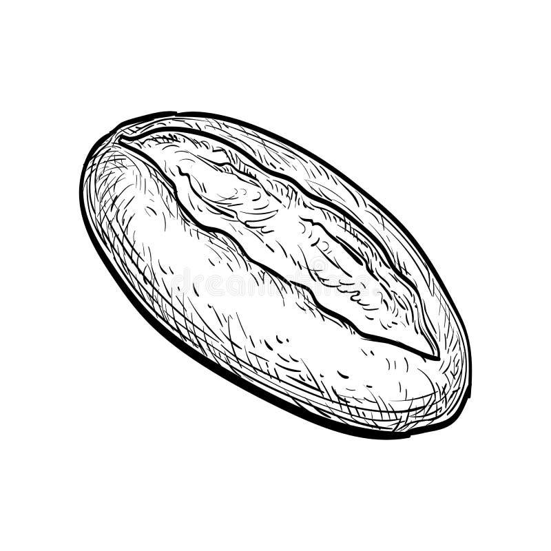 Pagnotta di pane royalty illustrazione gratis