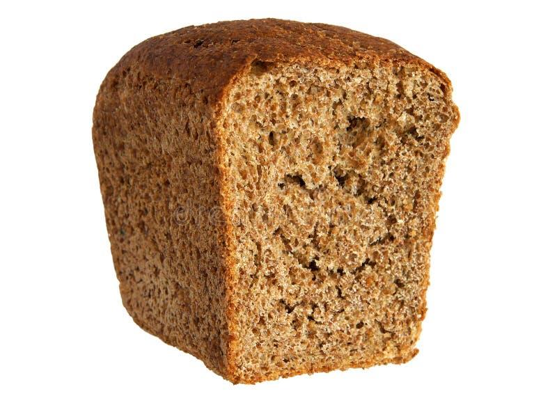 Pagnotta di pane mezza fotografie stock