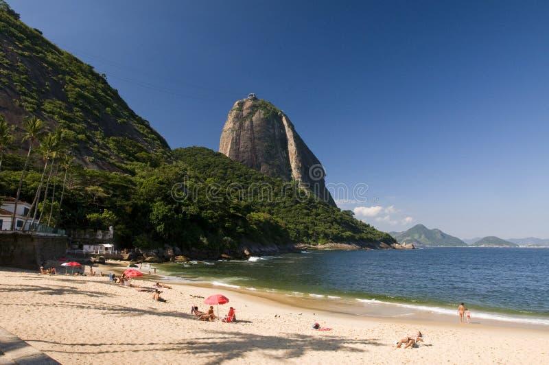Pagnotta di zucchero di Rio de Janeiro fotografie stock libere da diritti