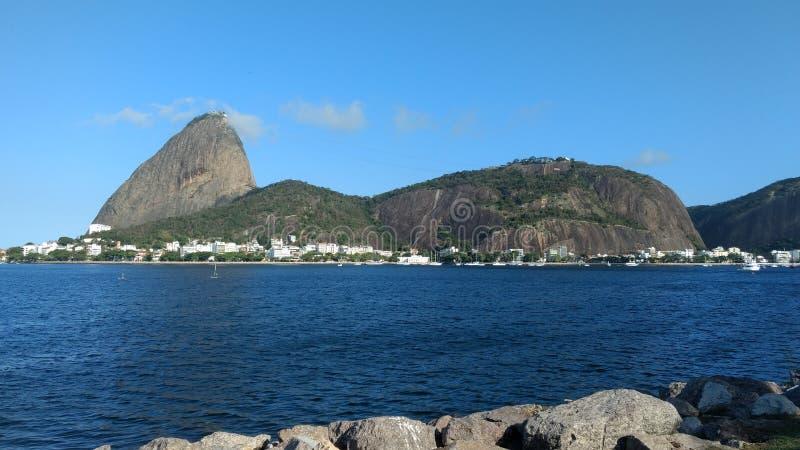 Pagnotta di zucchero - Rio de Janeiro immagine stock
