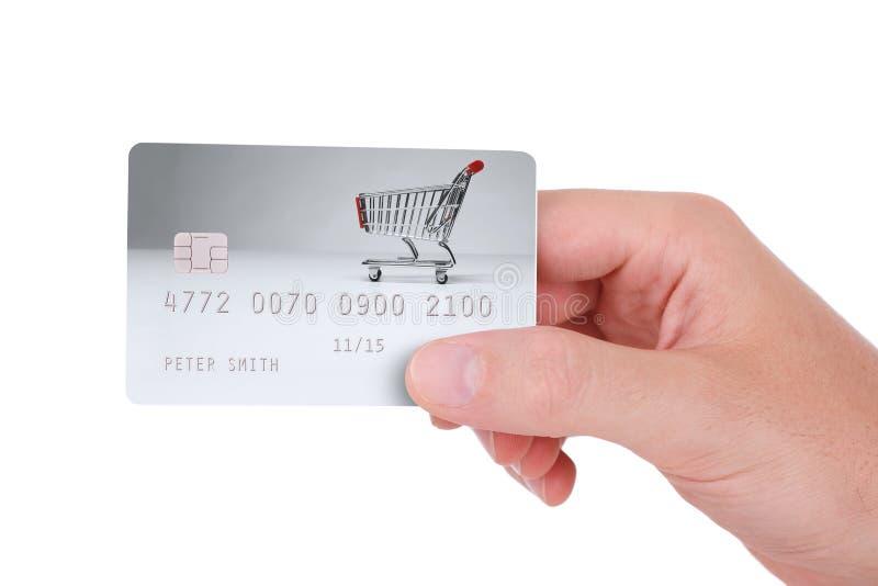Pago con de la tarjeta de crédito fotos de archivo libres de regalías