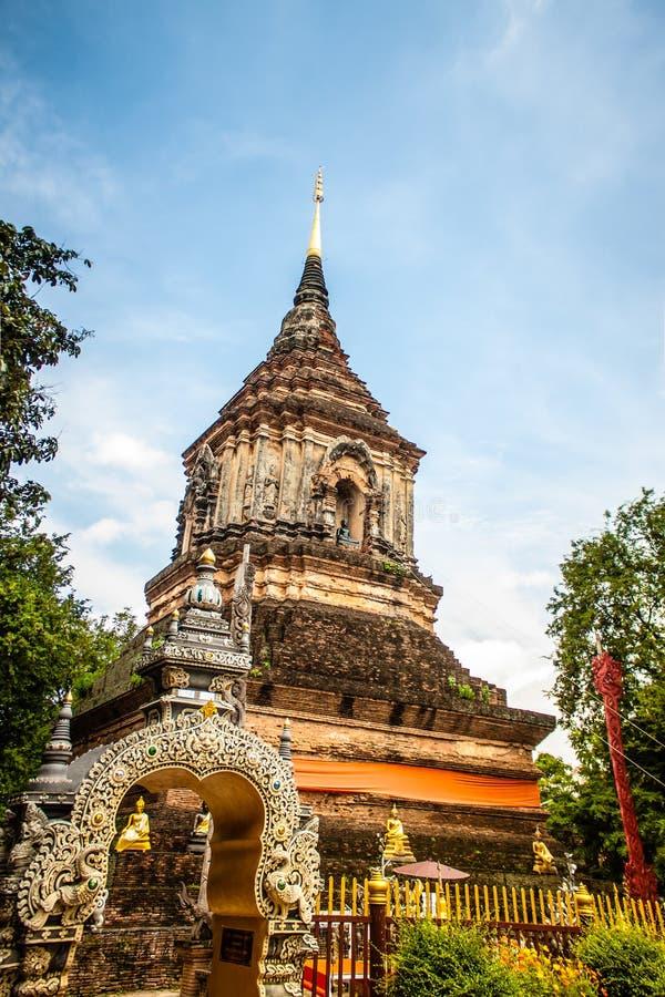 Pagod av Wat Lok Moli fotografering för bildbyråer