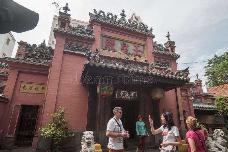 Pagod för kejsare för jade för Phouc haitempel royaltyfri fotografi