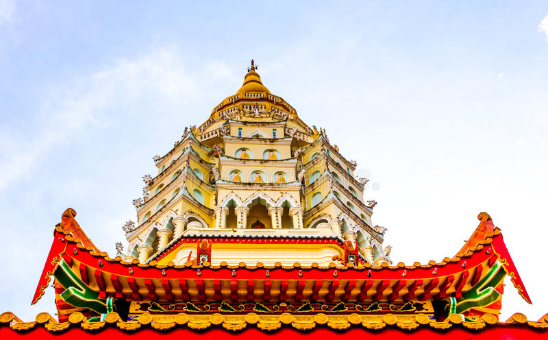 Pagod i Penang, Malaysia royaltyfri bild