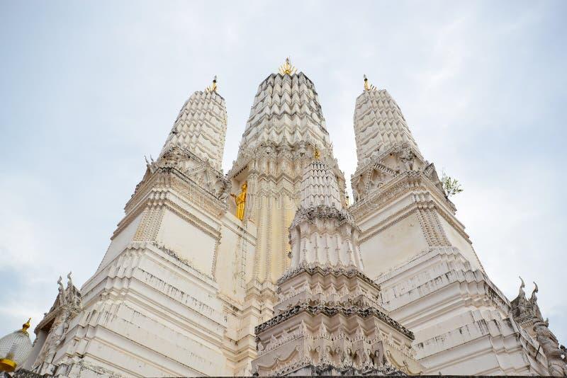 Pagoda énorme blanche photo libre de droits