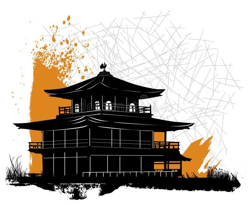 Pagoda illustration de vecteur