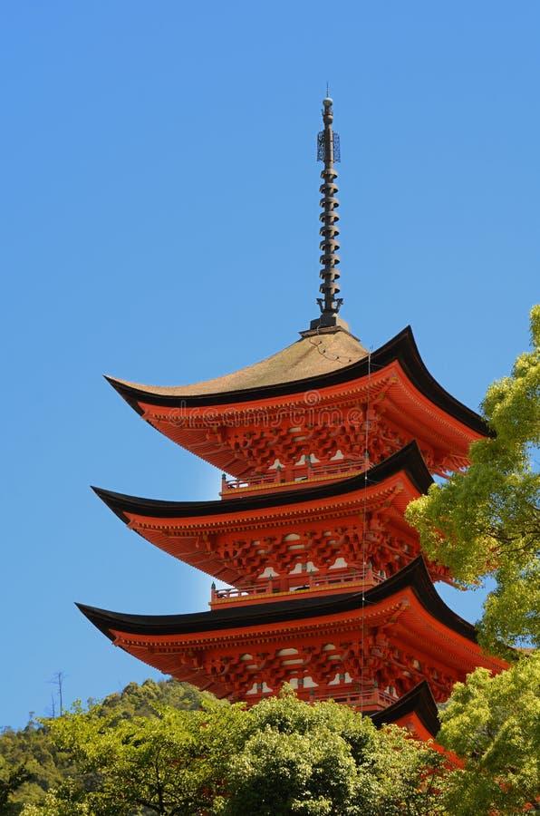 Download Pagoda stock image. Image of shrine, itsukushima, ancient - 20458699