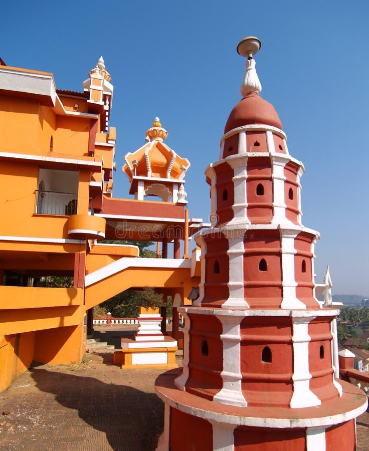 Pagoda al tempiale di Maruti fotografia stock libera da diritti