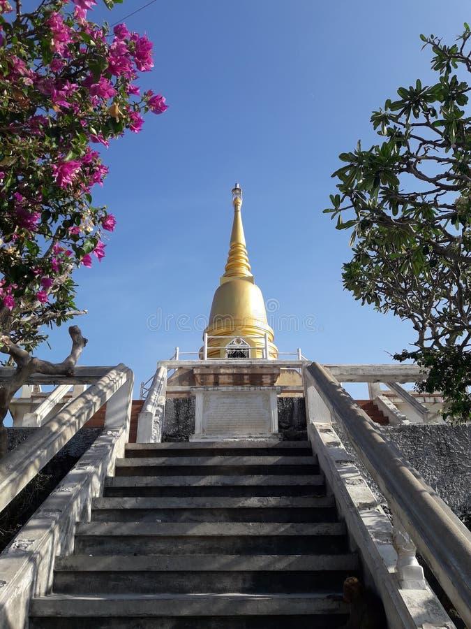 Pagoda antica a Bangkok, Tailandia immagine stock