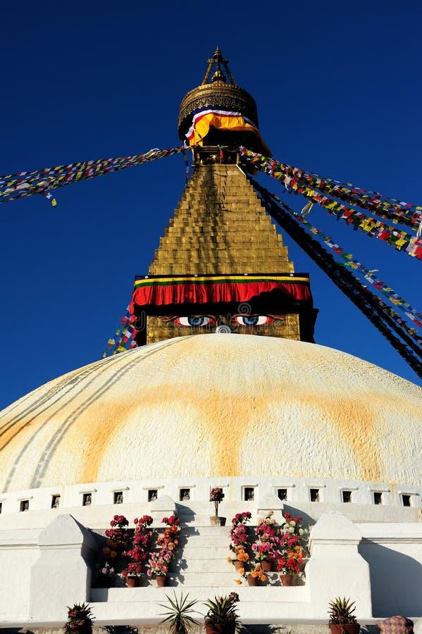 Pagoda au Népal images libres de droits