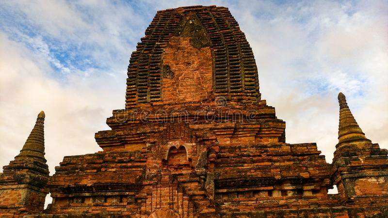 Pagoda Bagan Temple photo stock