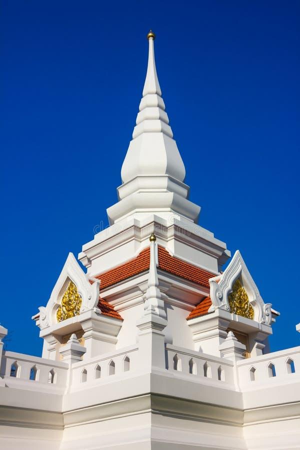 Pagoda branco imagem de stock
