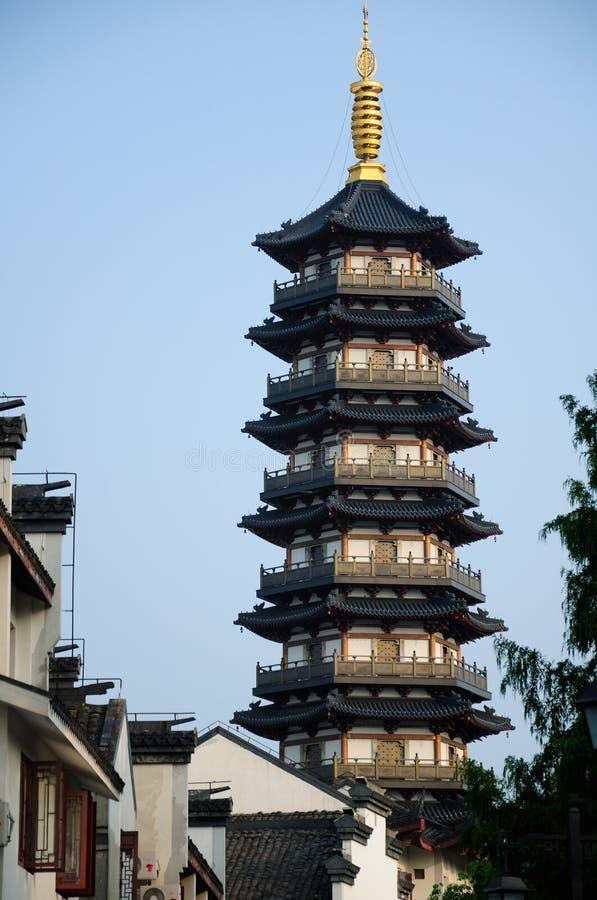 Pagoda Changhaï Chine de Yongan photo libre de droits