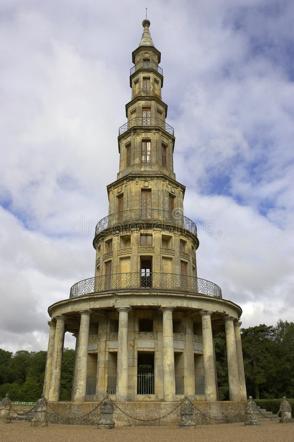 Download Pagoda A Chanteloup, Amboise, Loire Valley, Francia Fotografia Stock - Immagine di orientale, stile: 209520