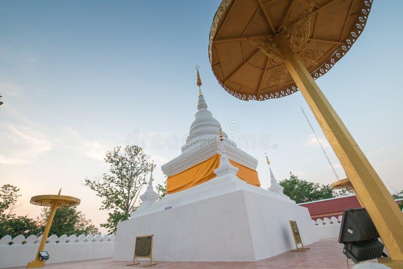 Pagoda chez Wat Phra That Kao Noi, Nan photos libres de droits