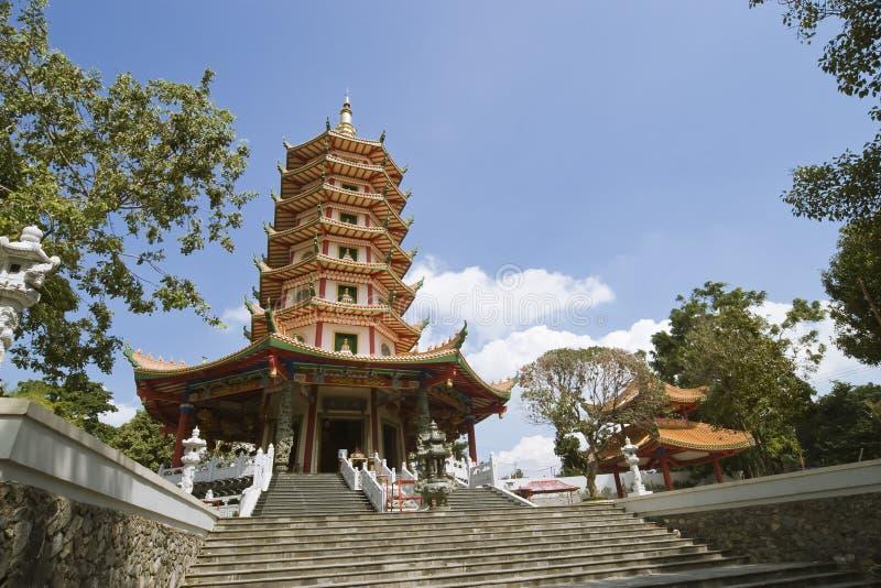 pagoda chińska shooter szeroki zdjęcie stock