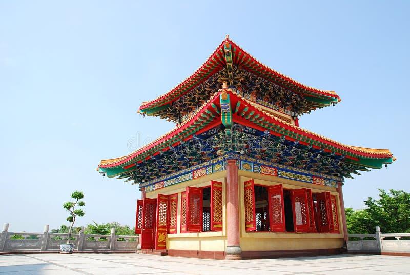Pagoda chinês fotografia de stock