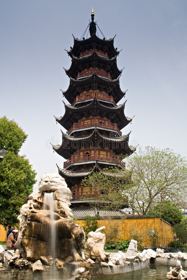 Pagoda chinês foto de stock royalty free