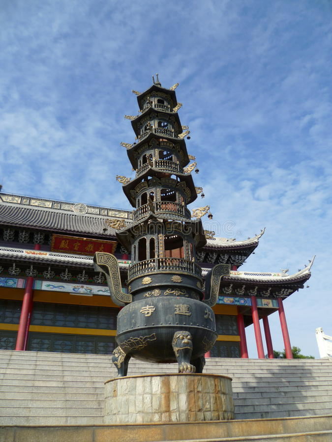 Pagoda chinês imagens de stock royalty free