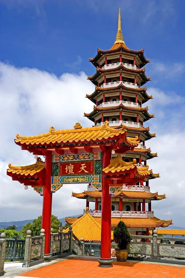 Pagoda chinês imagem de stock