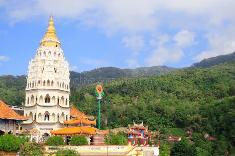 Pagoda china en Georgetown foto de archivo
