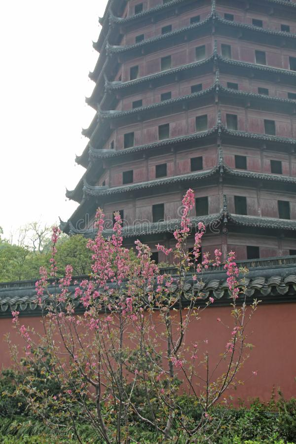Pagoda, China. Old chinese architecture.  royalty free stock photos