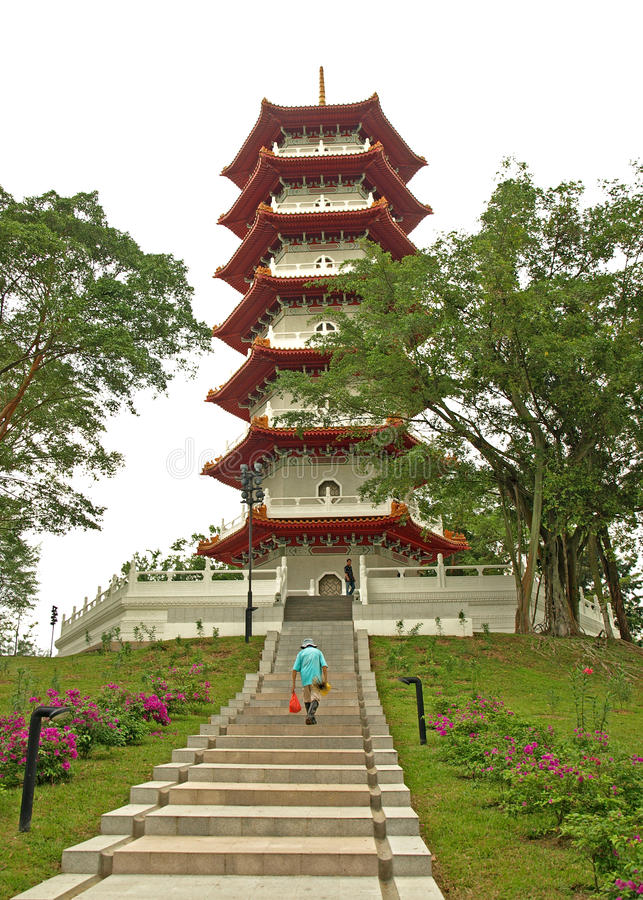 Download Pagoda In Chinese Gardens, Singapore Editorial Photo - Image: 23868686
