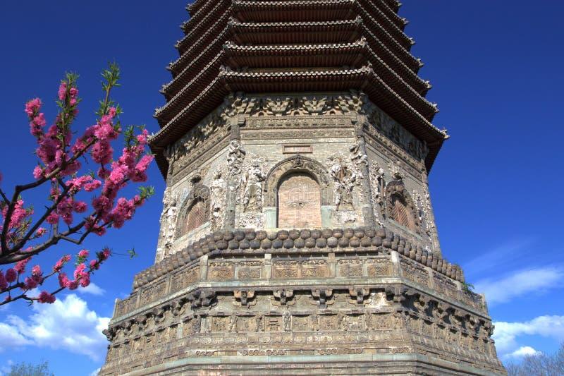 Pagoda chinoise antique photos stock