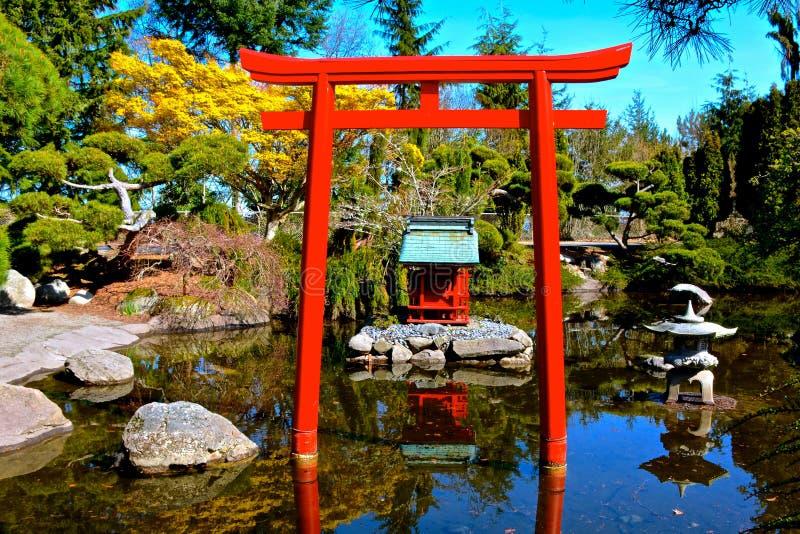 Pagoda cinese immagini stock
