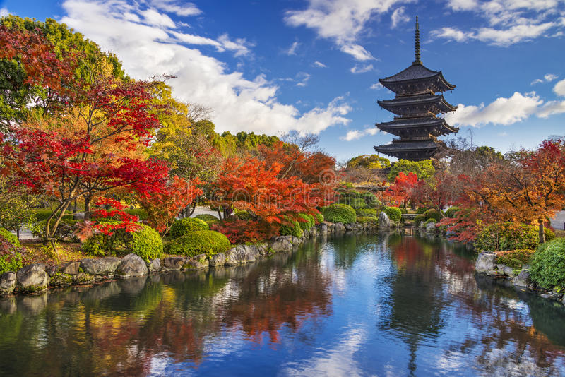 pagoda d'À-JI photographie stock libre de droits