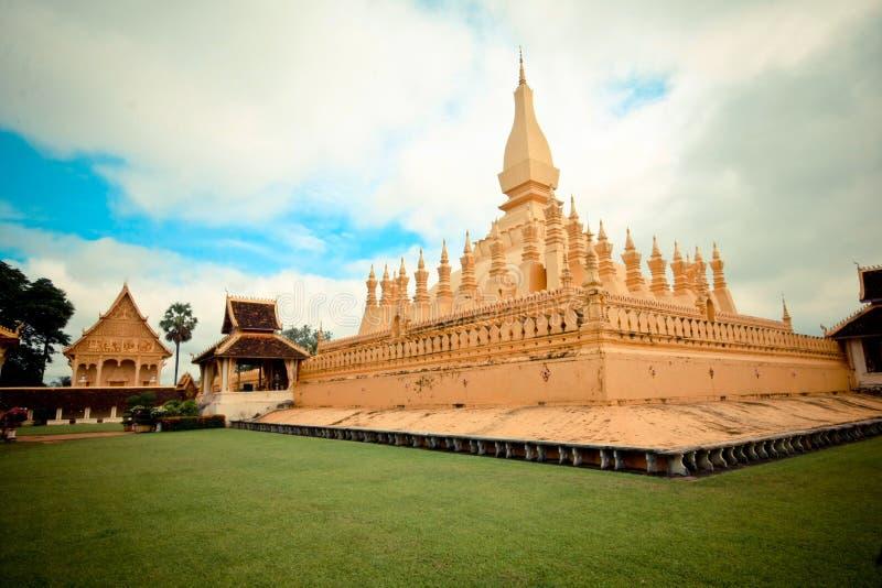 Temmple à Vientiane image stock