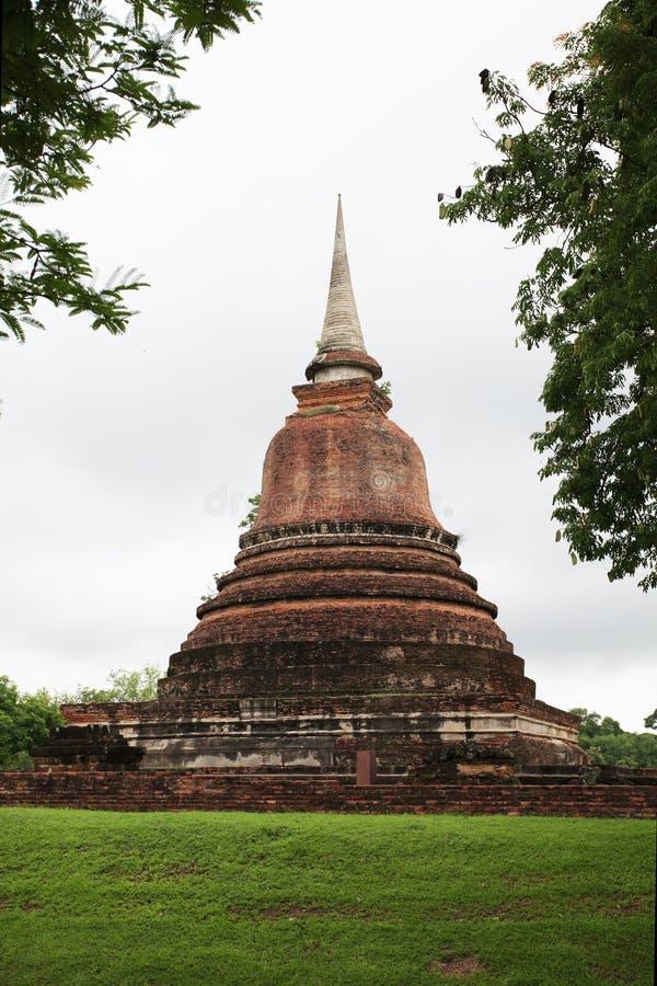 Pagoda dans le passé photo stock