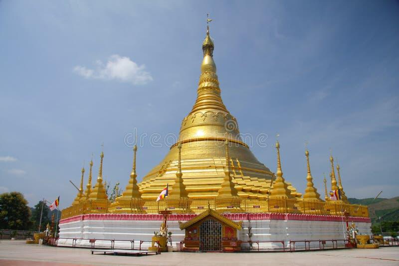 Pagoda dans Myanmar images libres de droits