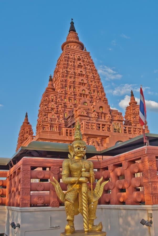 Pagoda de Bodh Gaya foto de archivo
