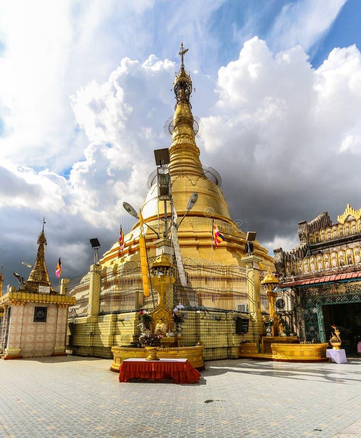 Pagoda de Botataung image stock