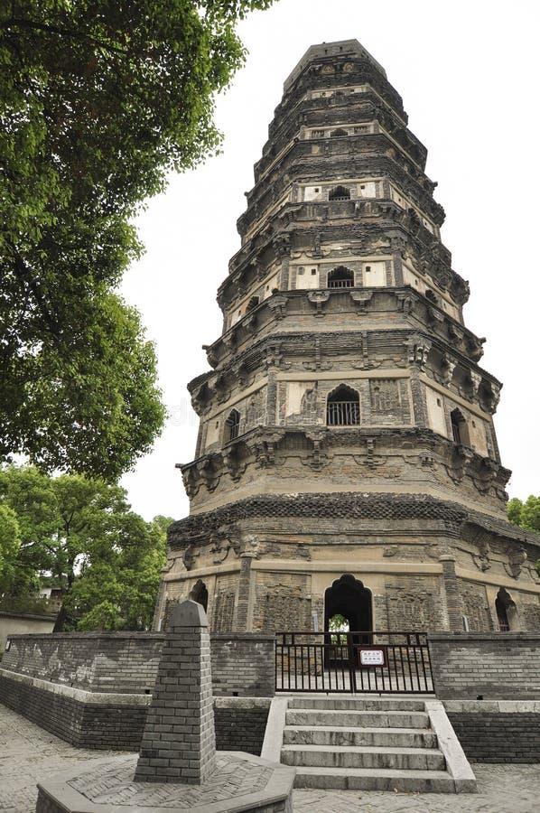 Pagoda de colline de tigre images stock