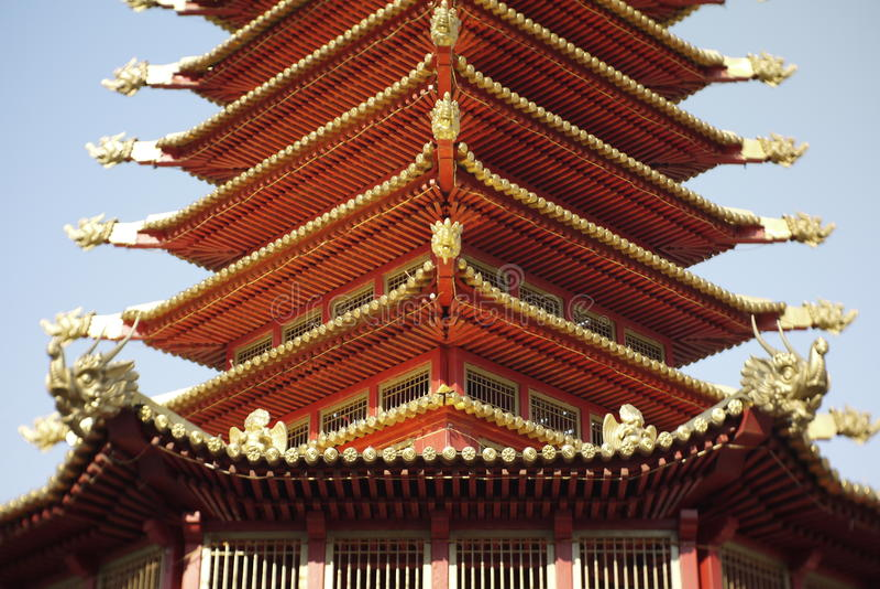 Pagoda de 7 días fotografía de archivo libre de regalías