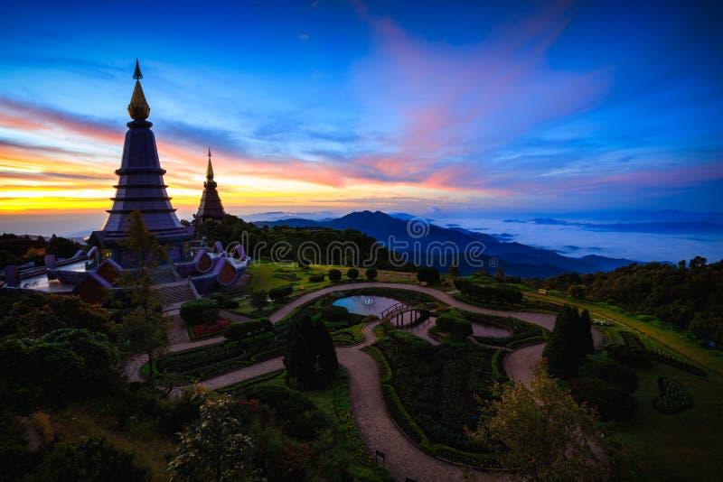 Pagoda de duo images stock