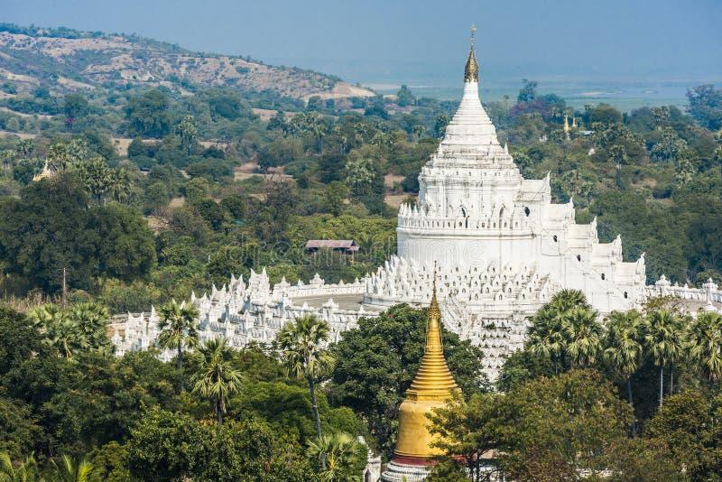 Pagoda de Hsinbyume images libres de droits