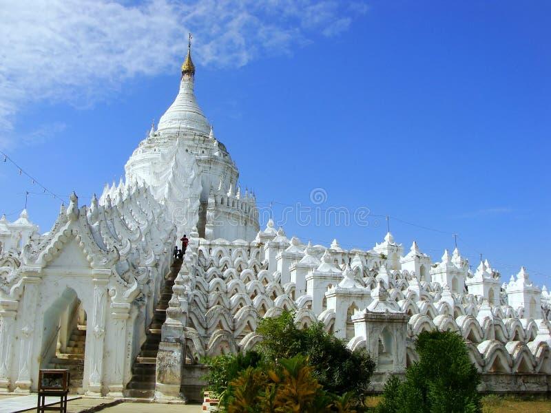 Download Pagoda De Hsinbyume Dans Mingun, Mandalay, Myanmar Image stock - Image du asiatique, landmark: 45364499