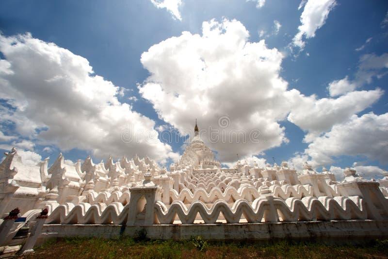 Pagoda de Hsinbyume en Myanmar imagen de archivo libre de regalías