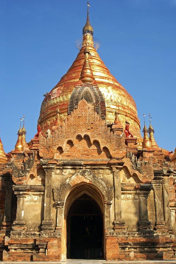 Pagoda de ka de Dhamma Ya Zi, Bagan foto de archivo