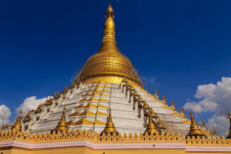 Pagoda de Mahazedi, Bago dans Myanmar (Burmar) images stock