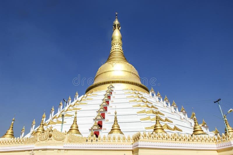 Pagoda de Mahazedi, bago, myanmar photographie stock libre de droits